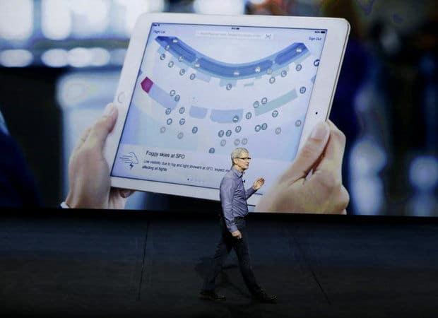 Tim Cook apresenta iPad Pro