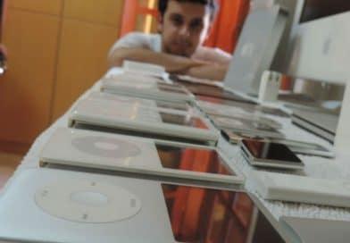 Sorocabano já acumula 75 itens em sua coleção de produtos Apple