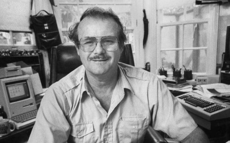 Jerry Pournelle em 1985. Foto: George Brich.
